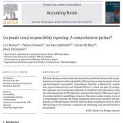 تهیه گزارشی از مسئولیت پذیری اجتماعی شرکتها: تصویری جامع؟