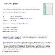 "<span itemprop=""name"">تنوع فرهنگی در وال استریت:شواهدی از پیش بینی سود اجماعی</span>"