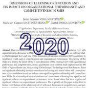 جهت گیری یادگیری و تأثیر بر عملکرد سازمانی و رقابت پذیری در بنگاهها