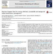 ابزار پشتیبان تصمیم گیری برای مدیریت یکپارچه، پایدار و انرژی