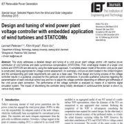 طراحی و تنظیم کنترلگر ولتاژ نیروگاه برق بادی با کاربرد توربینهای بادی