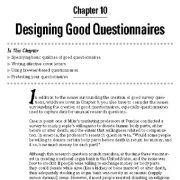 طراحی پرسشنامه خوب