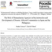 نقش سازمانهای بشردوستانه و مردم نهاد در بازسازی و توسعه