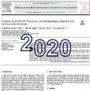 دیابتها در کوید ۱۹ یا کرونا: شیوع، پاتوفیزیولوژی، ملاحظات کاربردی