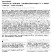بررسی  به کارگیری دیاگرام  و گراف و نمودار  در قراردادها  به منظور  تقویت مکاتبات
