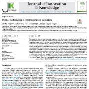 ارتباطات  پایداری دیجیتال در گردشکری
