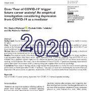 آیا ترس از کروناویروس(COVID-19) باعث تحریک اضطراب می شود؟