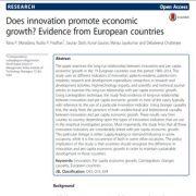 آیا نوآوری موجب بهبود و ارتقای رشد اقتصادی می شود؟