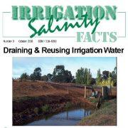 زهکشی و استفاده مجدد از آب های آبیاری