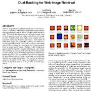 رتبه بندی دوگانه برای بازیابی تصویر اینترنتی