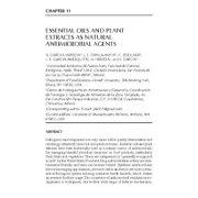 دانلود پاورپوینت اسانسها و عصارههای گیاهی به عنوان عوامل ضد میکروبی