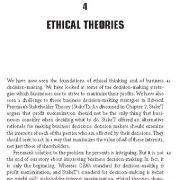 تئوری های اخلاقی در کسب و کار