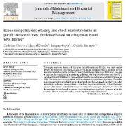 عدم قطعیت سیاست اقتصادی و نرخ بازده بازار سهام در کشورهای حاشیه اقیانوس ارام