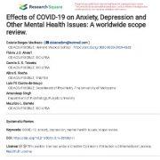 "<span itemprop=""name"">اثرات کوید-۱۹(COVID-19 یاکروناویروس) بر روی اضطراب، افسردگی</span>"