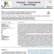تأثیرات عوامل فرهنگی اجتماعی و اقتصادی بر کارآفرینی اجتماعی و توسعه پایدار