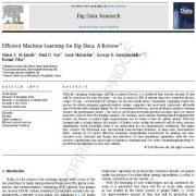 یادگیری ماشین کارآمد برای کلان دادهها: یک مقاله مروری