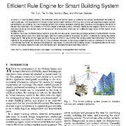بررسی موتور قوانین  موثر برای  سامانه ی ساختمان هوشمند