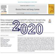 سیستم مدیریت انرژی برای میکروگرید باطری بادی PV هیبریدی