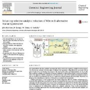 بهبود کاهش کاتالیستی انتخابی نیتروز اکسید با پروموتور ها