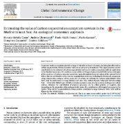 تخمین ارزش خدمات اکوسیستم ترسیب کربن در دریای مدیترانه: یک رویکرد اقتصاد اکولوژیکی