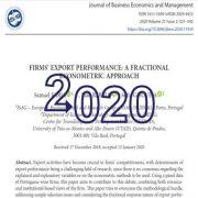 عملکرد صادرات شرکت: رویکرد اقتصاد سنجی فراکشنال