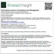 بررسی فاکتورهای تاثیرگذار بر اجرای موفق تجارت الکترونیک