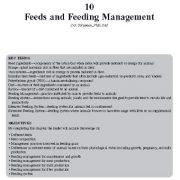 خوراک و مدیریت تغذیه  (بز)