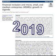 گنجایش مالی و رشد بنگاههای خرد، کوچک و متوسط (MSME)