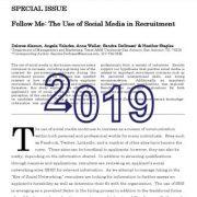 من را دنبال کن: استفاده از رسانههای اجتماعی در گزینش و استخدام
