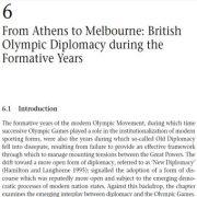 از آتن تا ملبورن: دیپلماسی المپیک انگلیس در سالهای شکل گیری