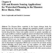 برنامهها و نرم افزارهای سنجش از دور و سیستم اطلاعات جغرافیایی برای برنامه ریزی حوزه آبخیز