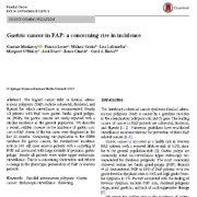 بررسی سرطان معده در پولیپوز آدنوماتوز خانوادگی