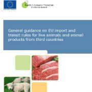 دستورالعمل عمومی در خصوص قوانین واردات و ترانزیت اتحادیهی اروپا