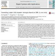 تولید راهبردهای پاسخ ریسک پروژه بر اساس CBR: یک مطالعه موردی