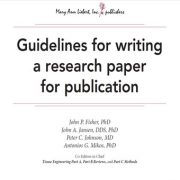 دستور العمل هایی برای   نوشتن یک مقاله پژوهشی