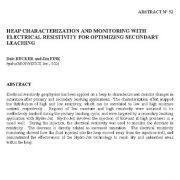 پایش و تعیین مشخصات توده با مقاومت الکتریکی