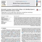 ویژگیهای رزونانس هارمونیک نیروگاه برق توزیعی بزرگ مقیاس در دامنه فرکانس پهن باند