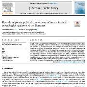 "<span itemprop=""name"">چگونه  ارتباطات سیاسی  شرکت بر  گزارش دهی مالی اثر دارد؟ مرور منابع</span>"