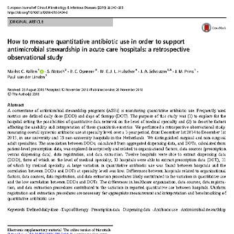 استفاده از مطالعه هم گروهی برای بررسی نحوه سنجش تجویز آنتی بیوتیک