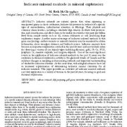 روشهای مطالعه کانیهای شاخص در اکتشاف ذخایر معدنی و کانی