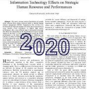 اثرات فناوری اطلاعات بر روی  عملکرد ها و منابع انسانی راهبردی