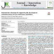 فناوری اطلاعات برای پشتیبانی از توسعه و حفظ  قابلیت های نوآوری باز