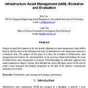 """<span itemprop=""""name"""">زیرساخت مدیریت دارایی (IAM): تکامل و ارزیابی</span>"""