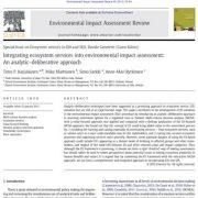 تلفیق خدمات اکوسیستم در ارزیابی اثرات زیست محیطی