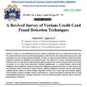 مروری بر فنون مختلف تشخیص جعل کارت اعتباری
