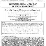 اثربخشی برنامه کارآموزی: یک فرصت شغلی