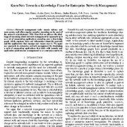 "<span itemprop=""name"">KnowNet: به سمت یک برنامه دانش برای مدیریت شبکه سازمانی</span>"