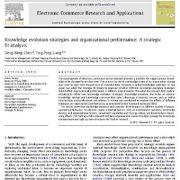 استراتژی های تغییر  و تحول دانش و کارایی شرکت و سازمان