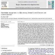 "<span itemprop=""name"">مقایسه مدیریت دانش و داده کاوی: رهیافت روند تغییرات ، پیش بینی و استناد</span>"