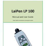 راهنما و دستور العمل کاربر  LaiPen LP 100 ( دستگاه اندازه گیری شاخص سطح برگ)